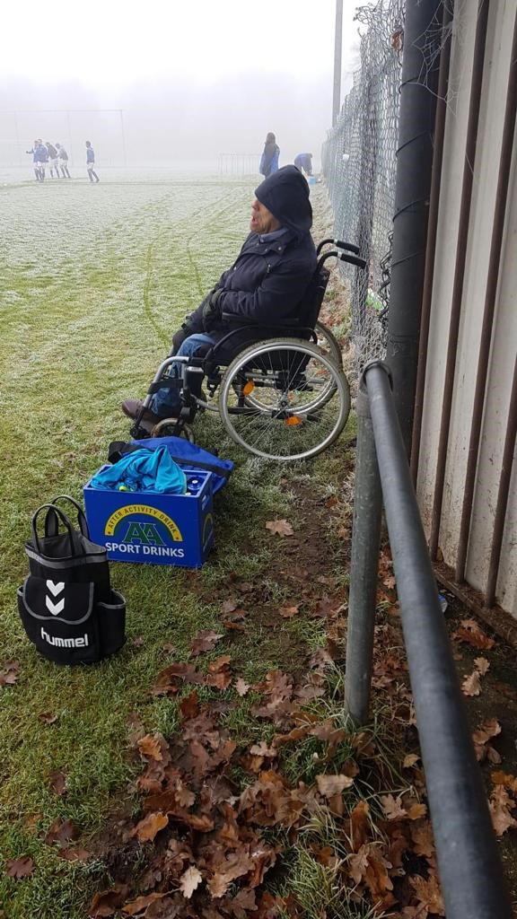 Jan Mensink, supporter in mooie en minder mooie dagen