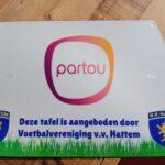 Nieuwe picknicktafel overhandigd aan Partou Kinderopvang