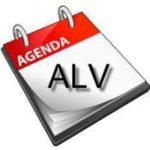 Agenda van de Algemene Ledenvergadering