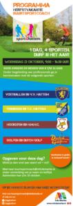 Sport4Hattem in Herfstvakantie